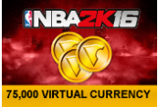 NBA 2K16 - 75,000 Virtual Currency US PS4 CD Key