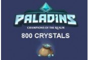 Paladins - 800 Crystals EU CD Key