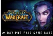 World of Warcraft 90 DAYS Pre-Paid Time Card US