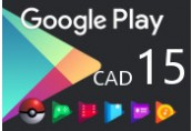 Google Play $15 CA Gift Card