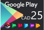 Google Play $25 CA Gift Card
