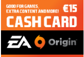EA Origin €15 Cash Card DE, FR, IT, NL, ES