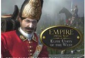 Empire: Total War - Elite Units of the West DLC Steam CD Key