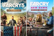 Far Cry 5 Gold Edition + Far Cry New Dawn Deluxe Edition Ultimate Bundle EMEA Uplay CD Key