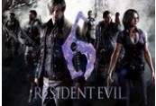 Resident Evil 6  EMEA+ANZ Steam CD Key