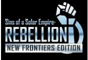 Sins of a Solar Empire: Rebellion New Frontier Edition Steam CD Key