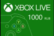 XBOX Live 1000 RUB Prepaid Card RU