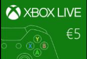 XBOX Live €5 Prepaid Card EU