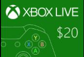 XBOX Live EUA 20 USD Pré-Pagos | Kinguin