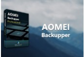 AOMEI Backupper Professional Edition + Lifetime Upgrade CD Key (Lifetime / 2 PC)