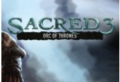 Sacred 3 - Orc of Thrones DLC Steam CD Key