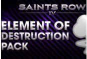 Saints Row IV - Element of Destruction Pack DLC Steam CD Key