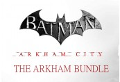 Batman: Arkham City - The Arkham Bundle DLC US PS3 CD Key