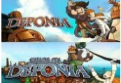 Deponia & Chaos on Deponia Steam CD Key