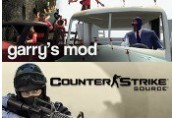 Counter-Strike: Source + Garry's Mod Steam Gift