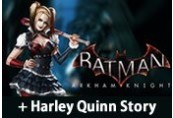 Batman: Arkham Knight + Harley Quinn Story Pack Clé Steam