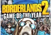 Borderlands 2 Game Of The Year Edition UE Chave Steam