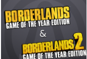 Borderlands 2 GOTY + Borderlands GOTY Steam CD Key
