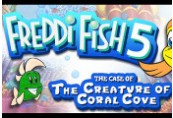 Freddi Fish 5: The Case of the Creature of Coral Cove Steam CD Key
