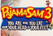 Pajama Sam 3: You Are What You Eat From Your Head To Your Feet Steam CD Key