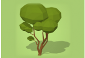 Zero to Hero Blender Course: Make 7 low poly trees for games ShopHacker.com Code