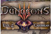 Dungeons 3 - Evil of the Caribbean DLC CN VPN Activated Steam CD Key
