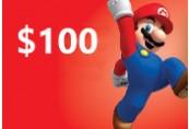 Nintendo eShop Prepaid Card $100 US Key