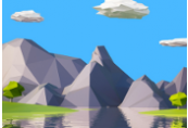 Create 6 low poly rock models in Blender for 3D environments ShopHacker.com Code