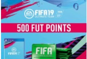 FIFA 19 - 500 FUT Points UK PS4 CD Key