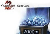 Guild Wars 2 US 2000 Gems Code