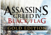 Assassin's Creed IV Black Flag Gold Edition EN Language Only Uplay CD Key
