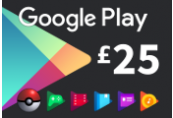 Google Play £25 UK Gift Card
