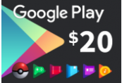 Google Play $20 US Gift Card
