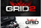 GRID 2 + GRID Autosport Bundle Steam CD Key