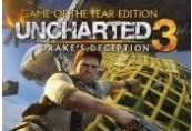 Uncharted 3: Drake's Deception Game of The Year Digital Edition NA PS3 CD Key