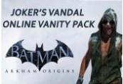 Batman Arkham Origins Joker's Vandal Online Vanity Pack Steam CD Key