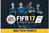 FIFA 17 - 500 FUT Points DE PS4 CD Key