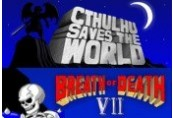 Cthulhu Saves the World & Breath of Death VII Double Pack Steam CD Key