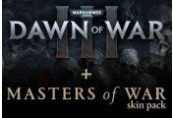 Warhammer 40,000: Dawn of War III + Masters of War Skin Pack DLC Clé Steam