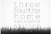 Three Fourths Home: Extended Edition Steam CD Key