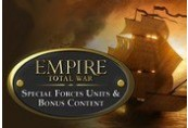 Empire: Total War - Special Forces Units & Bonus Content DLC Steam CD Key