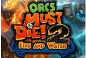Orcs Must Die 2! Fire and Water Booster Pack Steam CD Key
