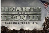 Hearts of Iron III - Semper Fi DLC Steam CD Key