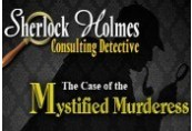 Sherlock Holmes Consulting Detective: The Case of the Mystified Murderess Steam CD Key