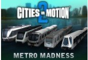 Cities in Motion 2 - Metro Madness DLC Steam CD Key