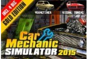 Car Mechanic Simulator 2015 Gold Edition Steam CD Key