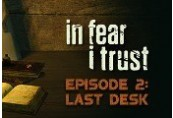 In Fear I Trust Episode 2 Clé Steam