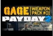 PAYDAY 2: Gage Weapon Pack 1 Steam Geschenk