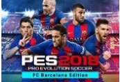 Pro Evolution Soccer 2018 FC Barcelona Edition ROW Steam CD Key