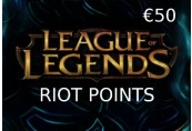 League of Legends 50 EUR Prepaid RP Card EU